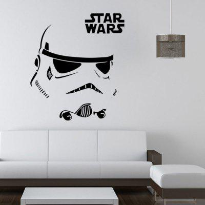 W-12 Calcomanía para Pared de Estilo de Stormtrooper
