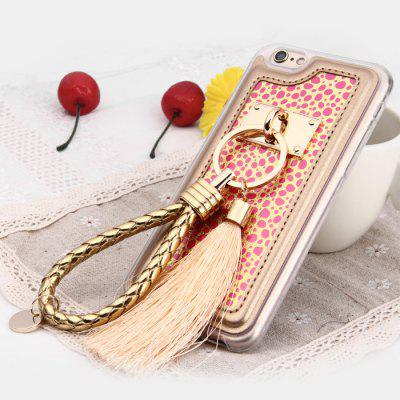 Leopard Print Protective Case for iPhone 6 / 6S with Lanyard