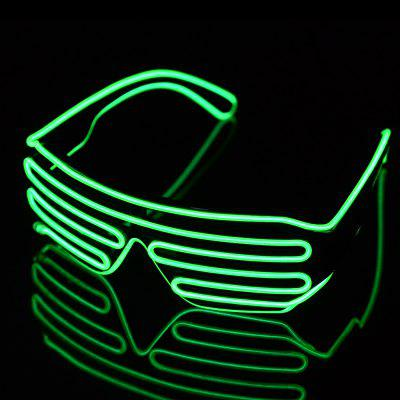 3-Mode Sound Control LED Brille