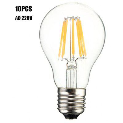 10pcs BRELONG E27 8W 8 x COB 800Lm LED Light Bulb ( AC 220V )