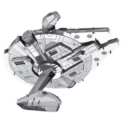 Millennium Falcon 3D Metallic Puzzle  –  SILVER 2018 Best Review and Coupon Code
