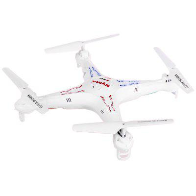 Syma X5C - 1 RC 2.4GHz 4-channel Drone - RTFRC Quadcopters<br>Syma X5C - 1 RC 2.4GHz 4-channel Drone - RTF<br><br>Age: Above 14 years old<br>Brand: Syma<br>Built-in Gyro: Yes<br>Channel: 4-Channels<br>Detailed Control Distance: &gt; 50m<br>Flying Time: &gt; 6mins<br>Functions: 360 degrees accurate orientation, With light, Up/down, Camera, Turn left/right, Sideward flight, Forward/backward<br>Level: Beginner Level<br>Material: Electronic Components, Plastic<br>Mode: Mode 2 (Left Hand Throttle)<br>Model Power: Built-in rechargeable battery<br>Motor Type: Brushed Motor<br>Night Flight: Yes<br>Package Contents: 1 x SYMA X5C Quadcopter, 1 x Transmitter, 4 x Blade, 1 x SD Card, 1 x USB Charger<br>Package size (L x W x H): 41.00 x 31.00 x 10.00 cm / 16.14 x 12.2 x 3.94 inches<br>Package weight: 0.7400 kg<br>Product size (L x W x H): 32.00 x 32.00 x 8.00 cm / 12.6 x 12.6 x 3.15 inches<br>Product weight: 0.1010 kg<br>Radio Mode: Mode 2 (Left-hand Throttle)<br>Remote Control: 2.4GHz Wireless Remote Control<br>Transmitter Power: 4 x 1.5V AA battery(not included)