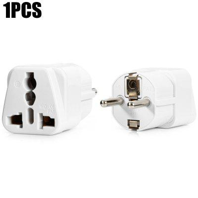 WD-9 EU Plug to Universal US UK AU Socket AdapterPlugs &amp; Sockets<br>WD-9 EU Plug to Universal US UK AU Socket Adapter<br><br>Color: Black,White<br>Identification: CE<br>Material: ABS<br>Model: WD-9<br>Package Contents: 1 x WD-9 EU Plug to Universal US UK AU Socket<br>Package size (L x W x H): 14.30 x 8.80 x 3.60 cm / 5.63 x 3.46 x 1.42 inches<br>Package weight: 0.1260 kg<br>Product size (L x W x H): 5.60 x 2.50 x 2.60 cm / 2.2 x 0.98 x 1.02 inches<br>Product weight: 0.0410 kg<br>Standard: EU standard