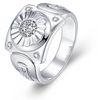 R736 Silver Plated New Design Finger Ring for Lady