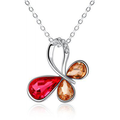 N025-B Nickle Free Antiallergic Real Gold Plated Necklace Pendants New Fashion Jewelry