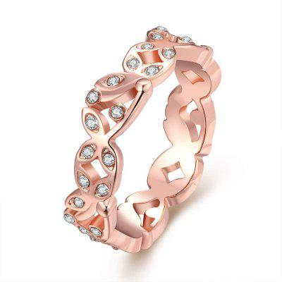 R025 Nickle Free Antiallergic New Fashion Jewelry Gold Plated Ring