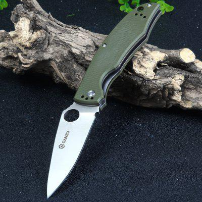 Buy Ganzo G732-GR Liner Lock Pocket Knife with G10 Handle ARMY GREEN for $17.73 in GearBest store