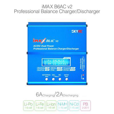 Spare SKYRC iMAX B6AC V2 6A Balance Charger LCD Display Discharger for RC Multirotor Aircraft Battery high quality skyrc 15v 4a 60w ac power adaptor for balance charger