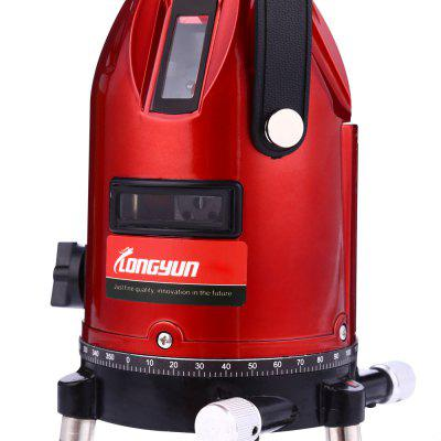 Longyun 3 Line Red Light Laser Level InstrumentTesters &amp; Detectors<br>Longyun 3 Line Red Light Laser Level Instrument<br><br>Battery Brand: Royal<br>Battery Type: AA<br>Battery Voltage: 1.5V<br>Horizontal and Vertical Accuracy: ±1mm / 7m<br>Line Width: 2mm / 5m<br>Orthogonality Accuracy: ±1mm / 3m<br>Package Contents: 1 x Lomvum 2 Line Red Light Laser Level Instrument, 1 x Glass, 1 x Accessory, 1 x Power Adapter, 1 x Belt, 3 x AA Battery<br>Package size (L x W x H): 22.50 x 18.60 x 12.50 cm / 8.86 x 7.32 x 4.92 inches<br>Package weight: 1.2970 kg<br>Product size (L x W x H): 19.00 x 12.80 x 9.50 cm / 7.48 x 5.04 x 3.74 inches<br>Product weight: 0.7640 kg<br>Projection Angle: 110 Degree<br>Right-angle Accuracy: ±1mm / 3m<br>Special function: Horizontal Indicator