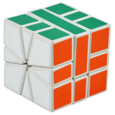 Irregular Style Colorful Cool Magic Cube for the Professional Game Design - White Base