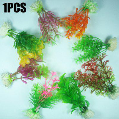 Plastic Aquatic Plant Fish Tank Decor