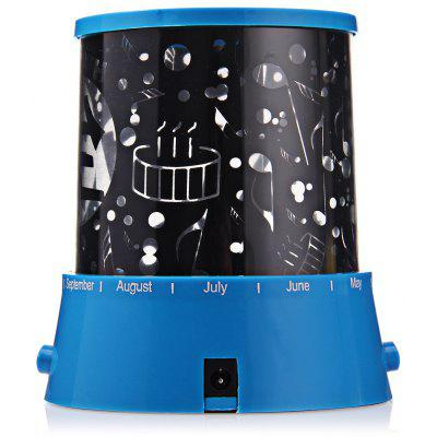 Buy Sky Star Master LED Night Light Projector Lamp HAPPY BIRTHDAY for $4.60 in GearBest store