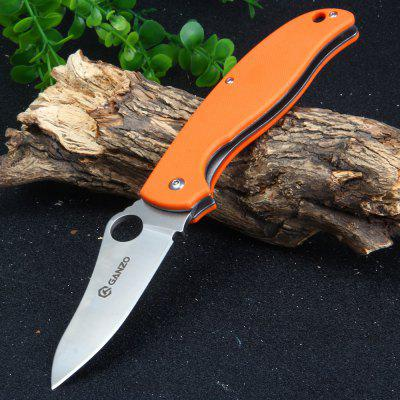 Buy ORANGE GANZO G734-OR Liner Lock 58HRC Pocket Knife for $19.79 in GearBest store