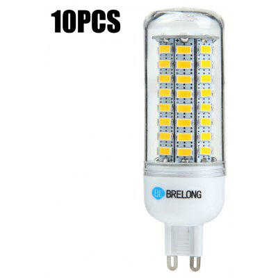 Buy 10xBRELONG G9 12W 1200Lm SMD 5730 LED Corn Light Bulb WARM WHITE LIGHT G9 for $21.02 in GearBest store