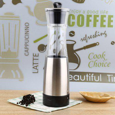 Buy Electric Pepper Salt Mill SILVER for $12.86 in GearBest store