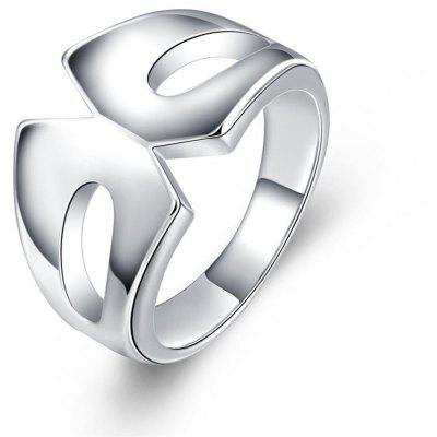 R729 Silver Plated New Design Finger Ring for Lady