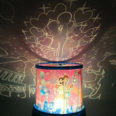 LED Star Master Projector Lamp with Streetlight Lovers