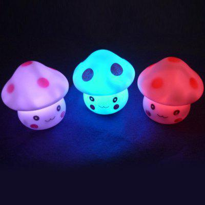 Energy Magic LED Cute Mushroom Night Light Novelty Lamp Changing Colors Colorful Nightlight Lamp Flashing Toy P4PMNovelty Toys<br>Energy Magic LED Cute Mushroom Night Light Novelty Lamp Changing Colors Colorful Nightlight Lamp Flashing Toy P4PM<br><br>Age: 3 Years+<br>Applicable gender: Unisex<br>Design Style: Figure Statue<br>Features: Educational<br>Material: Electronic Components, PVC<br>Package Contents: 1 x Mushroom Night Lamp<br>Package size (L x W x H): 6.50 x 6.50 x 6.50 cm / 2.56 x 2.56 x 2.56 inches<br>Package weight: 0.0650 kg<br>Puzzle Style: Other<br>Small Parts: No<br>Type: Intelligence toys<br>Washing: No