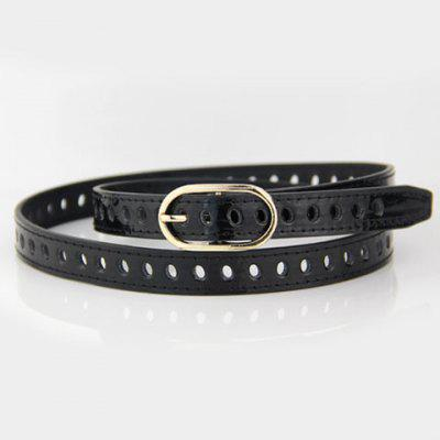 Hot Sale Hollow Out Alloy Pin Buckle Elastic Waist Belt For Women