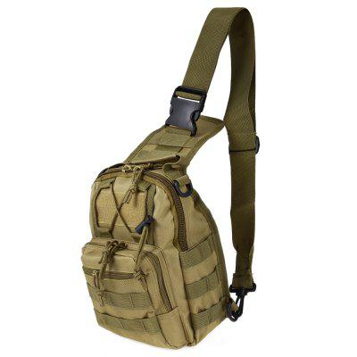 Gearbest Backpack Crossbody Bag - KHAKI