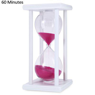 Hand-blown 60 Minutes Color Sand SandglassClassic Toys<br>Hand-blown 60 Minutes Color Sand Sandglass<br><br>Appliable Crowd: Unisex<br>Materials: Glass, Wood<br>Nature: Sandglass<br>Package Contents: 1 x 60 Minutes Sandglass<br>Package size: 11.50 x 11.50 x 22.00 cm / 4.53 x 4.53 x 8.66 inches<br>Package weight: 0.5250 kg<br>Product size: 10.00 x 10.00 x 20.50 cm / 3.94 x 3.94 x 8.07 inches<br>Product weight: 0.4500 kg<br>Specification: None