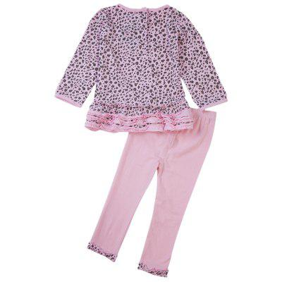 Chic Round Neck Long Sleeve Cotton Leopard Pattern Baby Girls Twinsetbaby clothing sets<br>Chic Round Neck Long Sleeve Cotton Leopard Pattern Baby Girls Twinset<br><br>Closure Type: Pullover<br>Collar: Round Neck<br>Color: Pink<br>Decoration: Bowknot<br>Fabric Type: Broadcloth<br>Gender: Girl<br>Material: Cotton<br>Package Contents: 1 x Twinset<br>Pattern Style: Leopard<br>Season: Autumn<br>Sleeve Length: Full<br>Sleeve Style: Regular<br>Style: Sweet<br>Thickness: General<br>Weight: 0.20KG