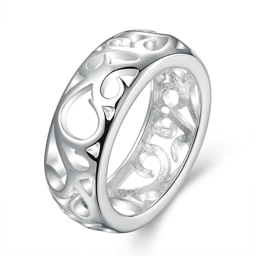 R679-8 Silver Plated New Design Finger Ring for Lady