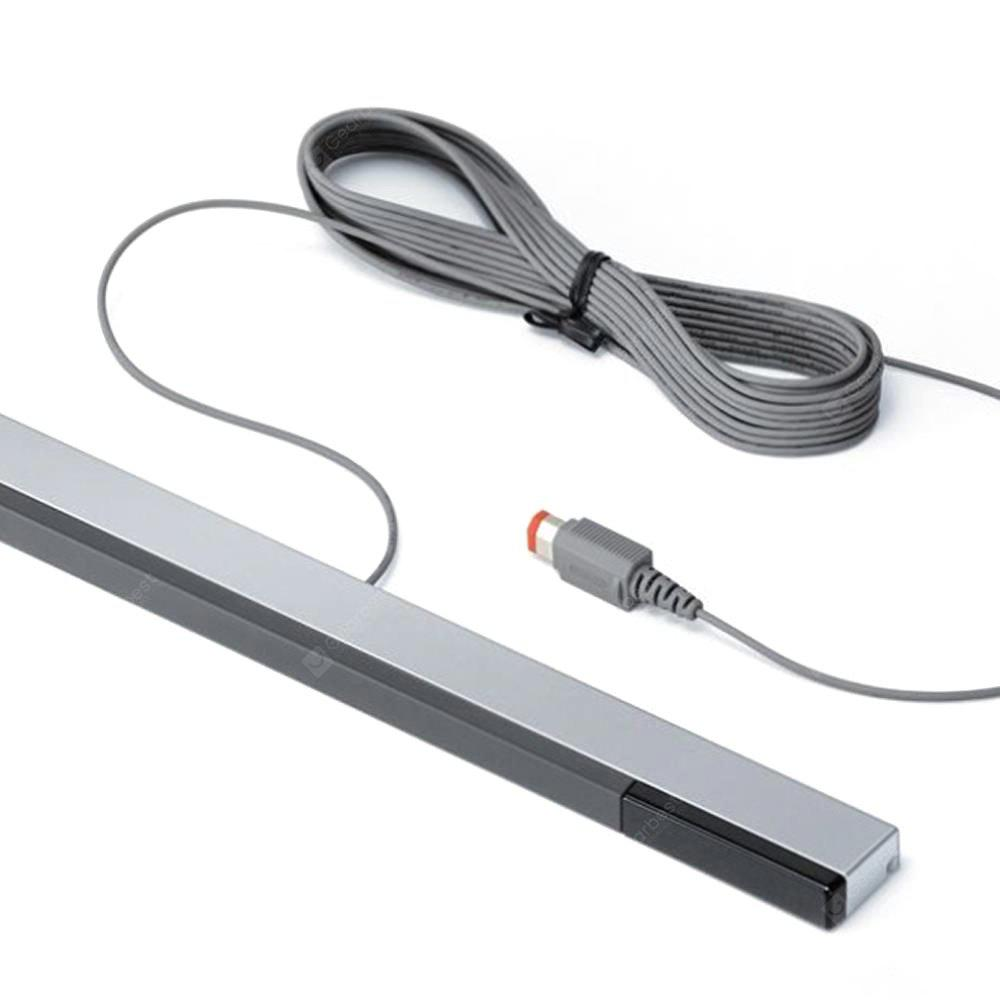 Wired Infrared Ray Sensor Bar Signal Receiver for Nintendo Wii