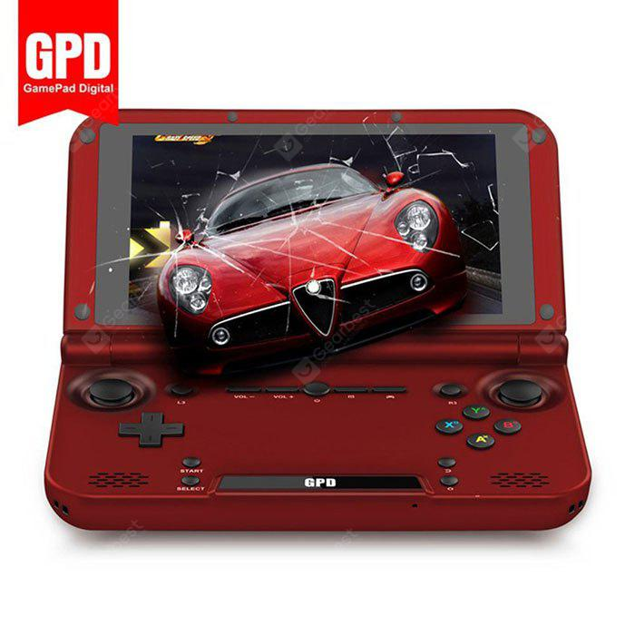 Gpd XD Handheld Game Console 64GB ROM - WINE RED  (entrepôt EU-6)