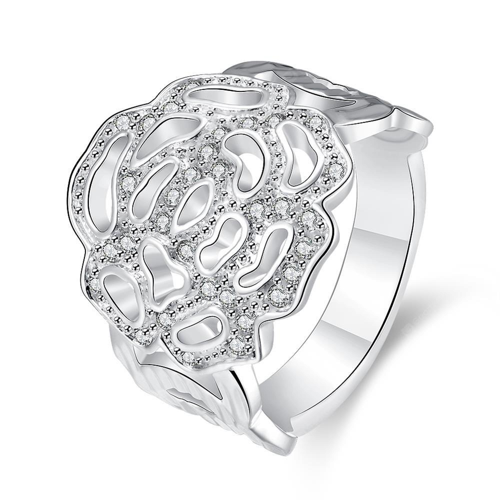 R741 Silver Plated New Design Finger Ring for Lady