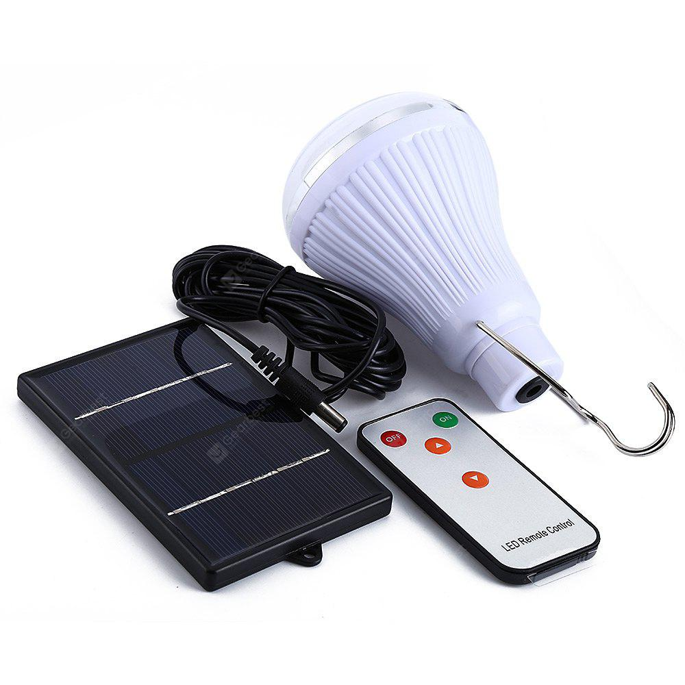 20 LED Dimmable Solar Lamp with Remote Controller