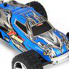 NO.2019 Remote Control Racing Car with 5 Speed Transmission and Flashing Light - BLUE