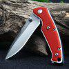 Sanrenmu 6029 LUC-GL Liner Lock Pocket Knife - RED