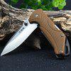 Sanrenmu 7089 SUX-PP-T3 Multi-function Folding Hunting Knife SOIL
