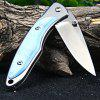 Sanrenmu H02 Women's Pocket Knife - BLUE