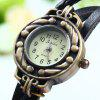 Yulan Angel Pendant Bracelet Women Quartz Watch - BROWN