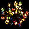 3,1 m Heart Design LED String Light - COLORMIX