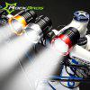ROCKBROS T6 Cree 3 Modes 1200LM Bicycle Head Lamp - GOLDEN