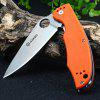Ganzo G732 - OR Liner Lock Pocket Folding Knife with G10 Handle - ORANGE