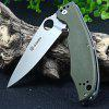 Ganzo G732 - GR Liner Lock Pocket Folding Knife with G10 Handle - ARMY GREEN