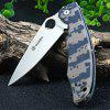 Ganzo G732 - CA Liner Lock Pocket Folding Knife with G10 Handle - CAMOUFLAGE COLOR