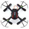 MJX X902 2.4GHz 4CH 6 Axis Gyroscope 3D Rollover RC Quadcopter with Light - BLACK