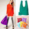 Folding Reusable Shopping Bags - RANDOM COLOR