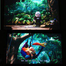 Portable 120 inch projector screen 16:9