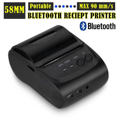 Excelvan Portable Bluetooth Wireless 58mm Thermal Dot Receipt Printer