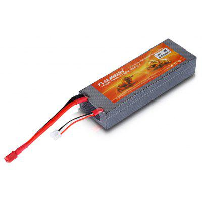 FLOUREON 7.4V 5200mAh 30C 2S Lipo Battery Pack