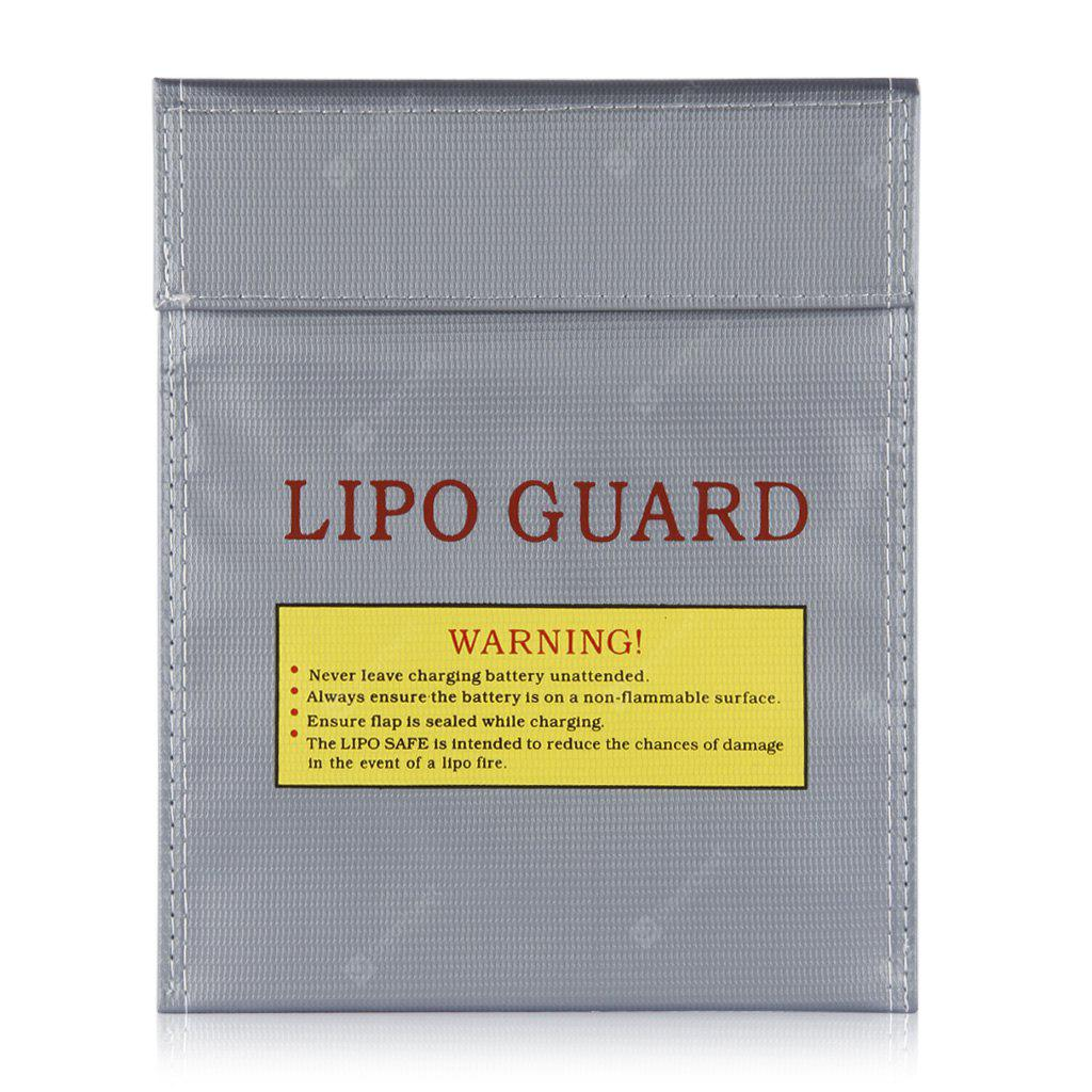 Lipo Battery Increase Explosion Proof Bag Fireproof Bundle 10pcs Steam Wallet Idr 400000 Guard Charge 18x23cm Silver 299 Free Shipping