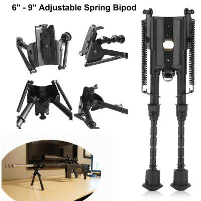 Excelvan 6 - 9 inch Adjustable Spring Bipod for Hunting