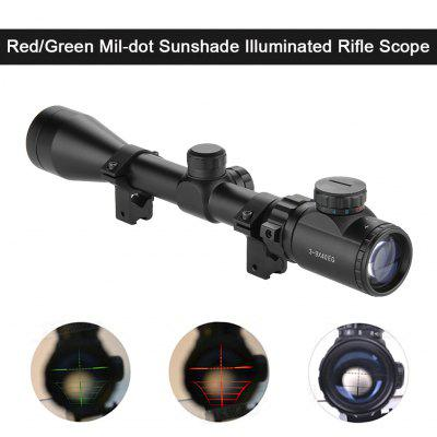 Excelvan Red and Green Illuminated Hunting Scope Sight