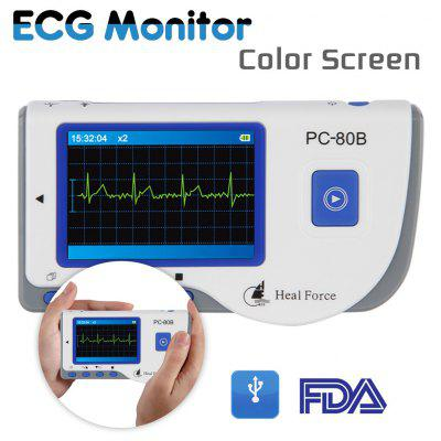 PC - 80B Heal Force Color Portable ECG Monitor